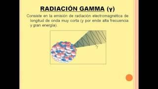 Videolección sobre desintegraciones radiactivas