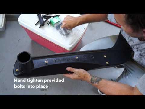 Suzuki Snorkel Installation