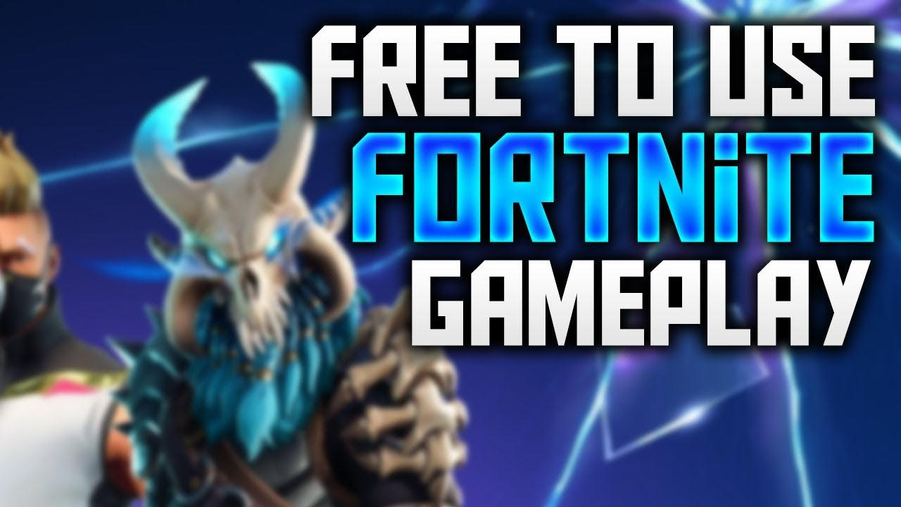Free To Use Fortnite Gameplay P Fps Ice Storm Duos