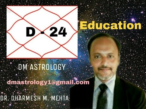 D-24 Chaturvishamsa for  Education by Dr.Dharmesh Mehta