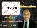 D-24 Chaturvishamsa for  Education by Dr.Dharmesh Mehta