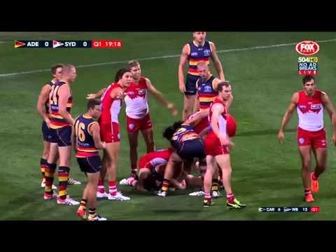 AFL 2016 Round 4 Adelaide V Sydney