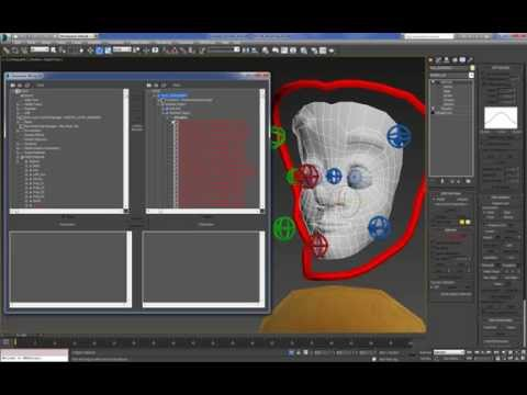 Cartoon Character For Production 3DMax (Setup) : 07 (45)