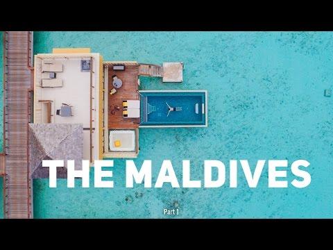 ARRIVAL IN THE MALDIVES || Maldives Travel Vlogs - Part 1