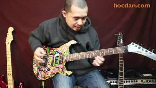 E-Guitar - Solo 02 - Cách luyện SOLO tay phải tốc độ