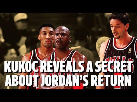TONI KUKOC REVEALS A SECRET ABOUT MICHAEL JORDAN'S RETURN