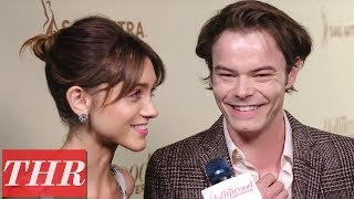 'Stranger Things' Natalia Dyer & Charlie Heaton on Season 3 & 'Barry' | Emmy Nominees Night 2018