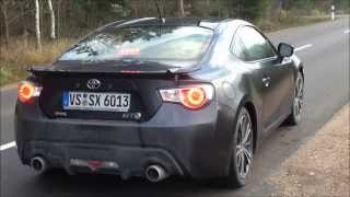 Toyota GT 86 Test Drive Acceleration, Top Speed, Exhaust Sound etc..