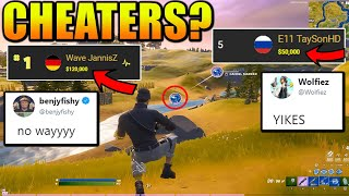 Fortnite Pro EU solo FNCS CHAMPION Just Got Caught CHEATING? (FULL STORY)