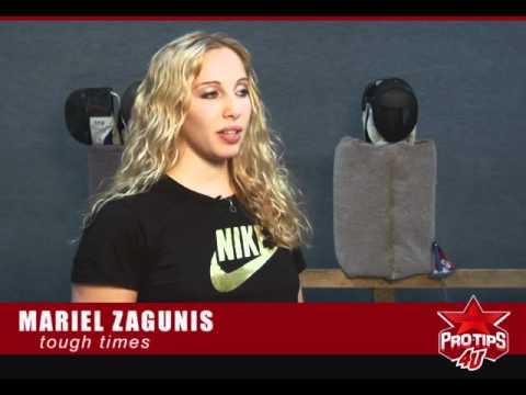 Mariel Zagunis interview - Dealing with Tough Times