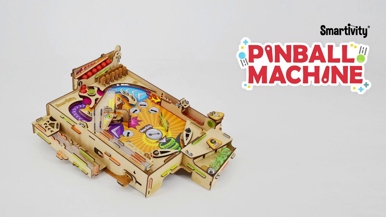 Download SMARTIVITY   Pinball Machine   How to Play