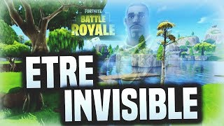 DEVENIR INVISIBLE SUR FORTNITE EN TERRAIN DE JEU ! BUG FORTNITE !
