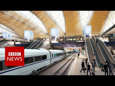 HS2 routes confirmed to Manchester and Leeds- BBC News