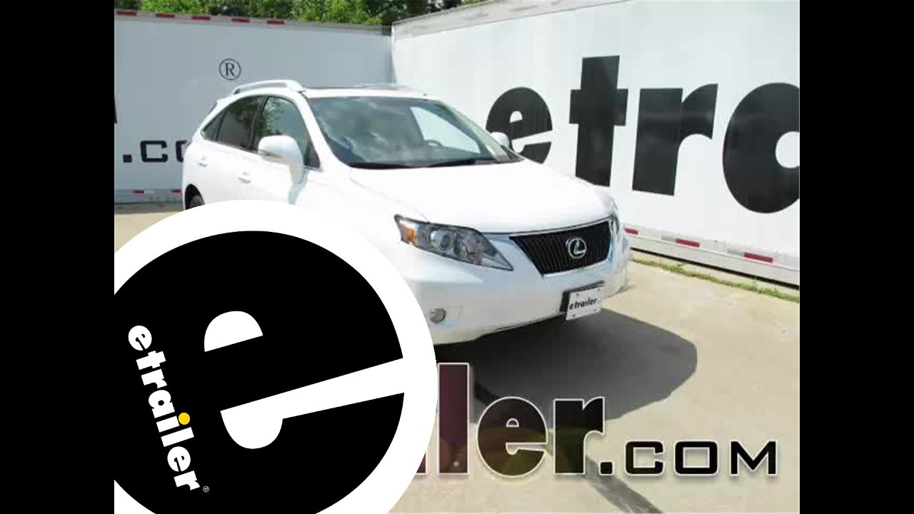 hight resolution of install trailer wiring harness 2011 lexus rx 350 118478 etrailer com