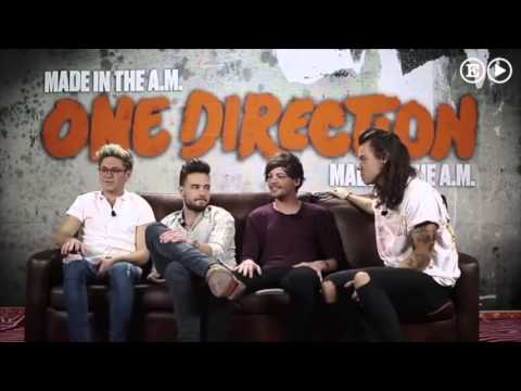 One Direction interview for El pais
