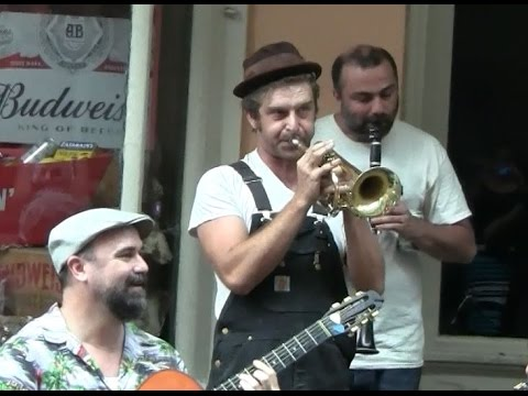 New Orleans Superband with Barnabus on Cornet