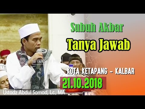 Download Ustadz Abdul Somad - 2018-10-21 Tanya Jawab KK -  MP3 MP4 3GP