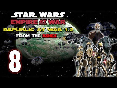 [8] Republic at War 1.2 (CIS) - Hard - Battle for Coruscant
