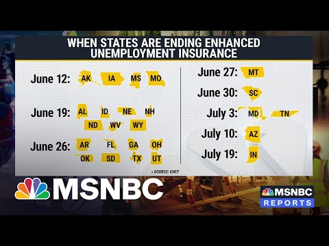 Enhanced Unemployment Benefits Ending June 12th For 25 States