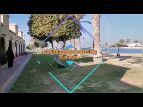 فلوق من منتجع هوليداي إن شاطئ نصف القمر الخبر Youtube