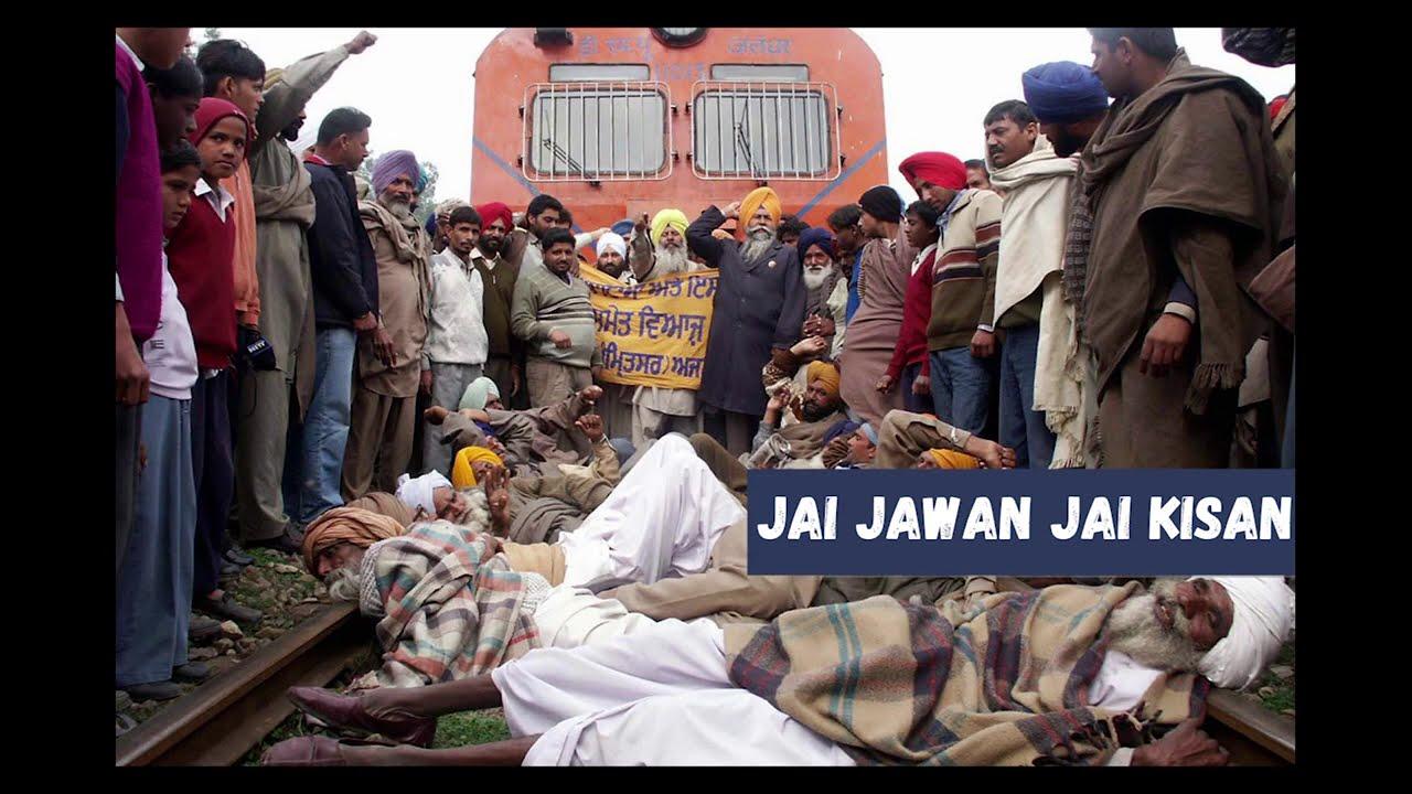 Punjab Farmers Protest (Stop Killing Farmers)