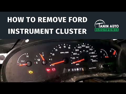 Tanin Auto Electronix 2004 - 2008 Ford E Series Cluster Repair