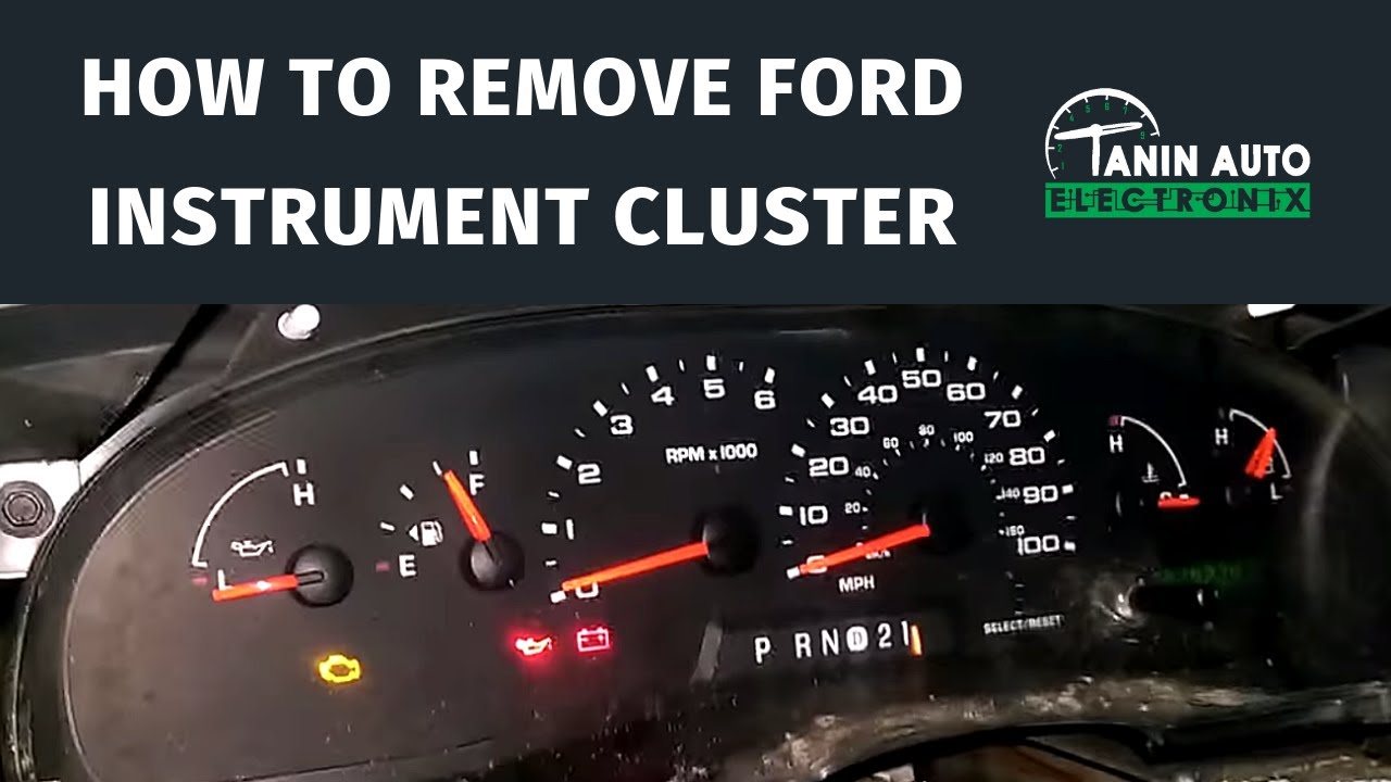2004 ford e250 fuse diagram 1978 evinrude 70 hp wiring tanin auto electronix 2008 e series cluster repair youtube