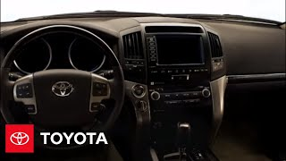 2009 Land Cruiser How-To: Smart Key: Start the Vehicle | Toyota