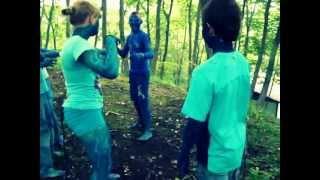 В лагере снимали пародию на фильм Аватар
