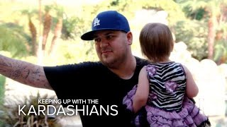 KUWTK | Rob Kardashian Practices Daddy Duties at Daycare | E!