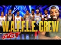 Beyond the Stage Brought to You by Dunkin': W.A.F.F.L.E. Crew - America's Got Talent 2020
