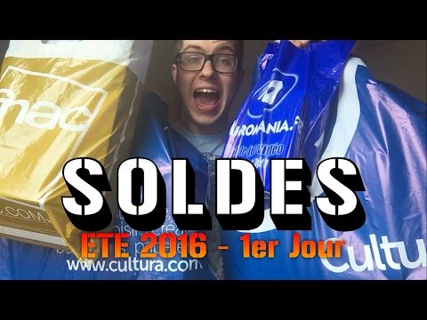 Soldes Ete 2016 - 1er Jour [LIVE] : Jeux Vidéo, Blu-ray, Figurines, Goodies, ...
