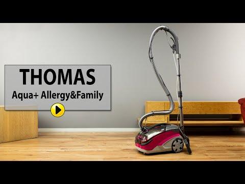 Odkurzacz Thomas Aqua Allergy Family Turboszczotka