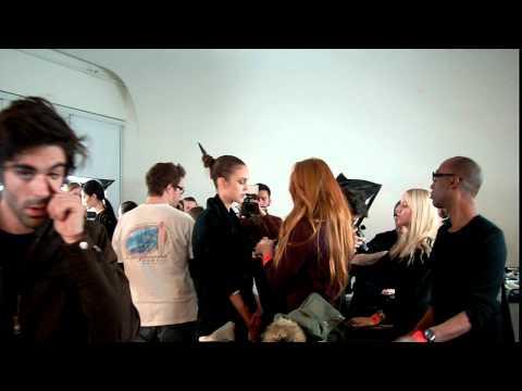 Killer Klips - Backstage At Cushnie Et Ochs Fall 2011 Show