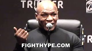 """MIKE TYSON GIVES EVANDER HOLYFIELD """"TALK TO ME"""" ULTIMATUM; TELLS HIM WHAT TO DO TO MAKE 3RD FIGHT"""