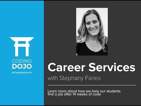 Coding Dojo Webinar: Career Services w/ Stephany