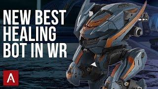 NEW Robot Tyr - The BEST Healing Bot In WR   War Robots 4.9 Test Server Gameplay