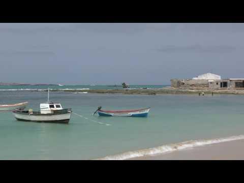 Praia d' Diante (Diante Beach) , Sal Rei, Boa Vista island, Cape Verde