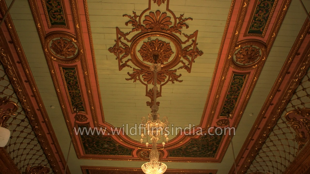 Falaknuma Palace Hyderabad - interiors and antique crystal ...