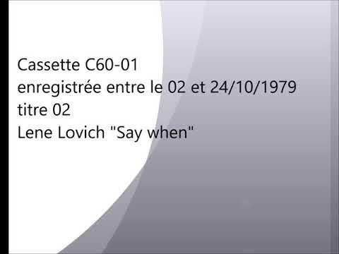 C60-01 02 Lene Lovich
