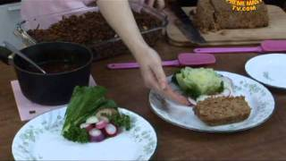 Chef Macro Val Presents: Wild Rice Pilaf & Millet Tempeh Loaf (2/2)