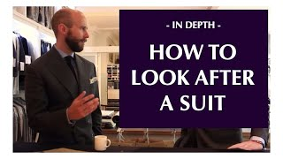 How to look after your suit, with Richard Anderson