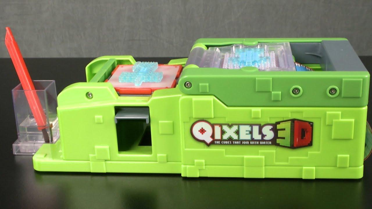 Qixels 3d 3d maker from moose toys youtube for 3d art maker online