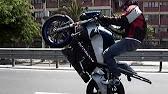 gopro wheelies on 500cc buell blast - youtube