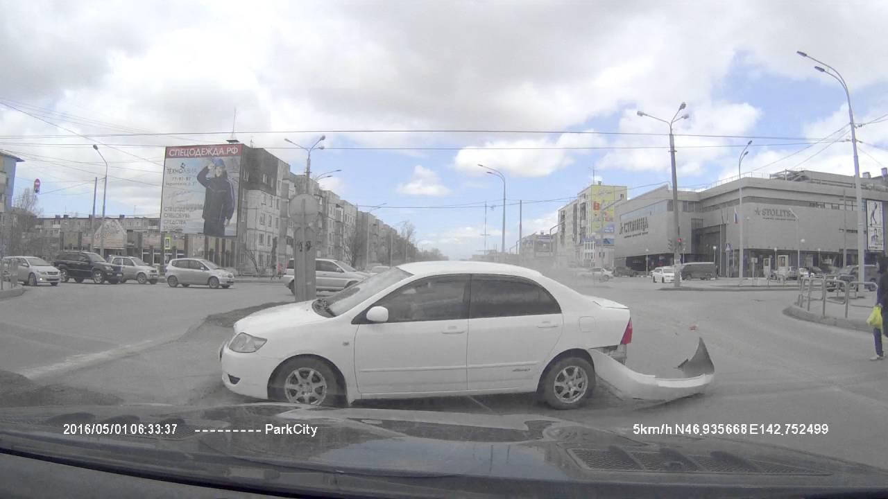 ДТП 01.05.16 Южно-Сахалинск