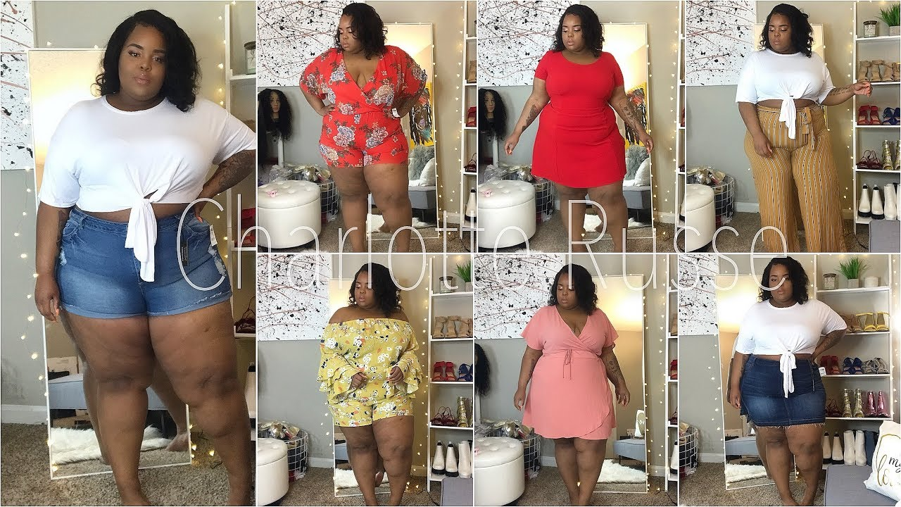 ed253a99ff9 Charlotte Russe Plus Size Try-On Haul