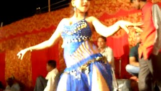 Hot Item Bar Girl in Bhojpuri Stage Arkestra Dance Program