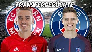 Griezmann zu den Bayern ? | Weigl zu Paris Saint-Germain ? | Transfers und Transfergerüchte 2017/18