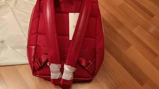 90FUN Diamond Lattice Backpack Women