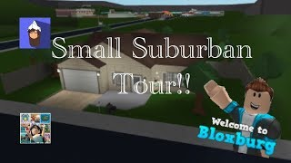 Small Suburban House Tour! | Bloxburg | Roblox